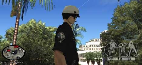 Los Angeles Air Support Division Pilot para GTA San Andreas terceira tela