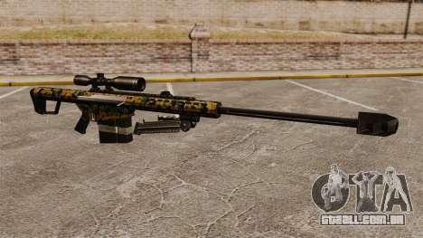 O Barrett M82 sniper rifle v13 para GTA 4