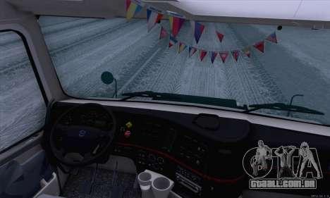 Volvo VNL 780 para GTA San Andreas vista traseira