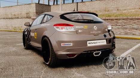 Renault Megane RS N4 para GTA 4 traseira esquerda vista