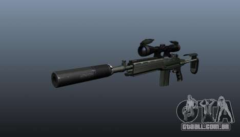 Automatic rifle M14 EBR v1 para GTA 4