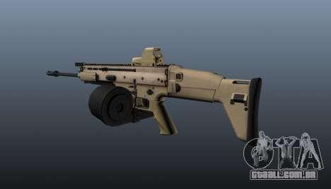 FN SCAR-H metralhadora LMG para GTA 4 segundo screenshot