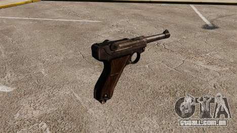 Pistola Parabellum v1 para GTA 4 segundo screenshot