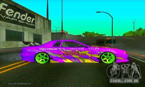 Elegy DC v2 para GTA San Andreas esquerda vista