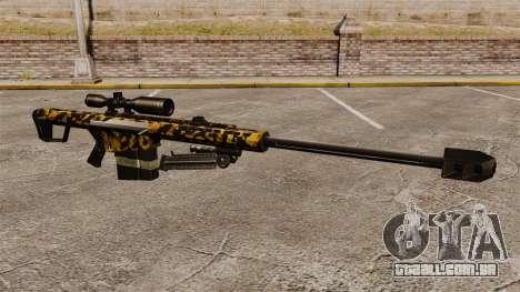 O Barrett M82 sniper rifle v11 para GTA 4