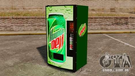 Novas máquinas de refrigerante para GTA 4