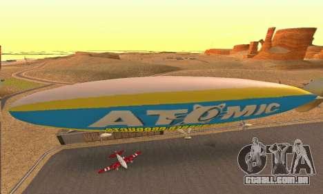 Zepellin GTA V para GTA San Andreas vista direita