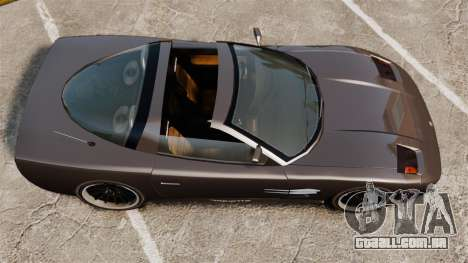 Coquette Targa para GTA 4 traseira esquerda vista
