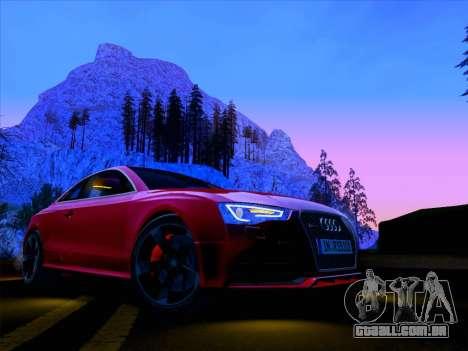 Audi RS5 2012 para GTA San Andreas vista interior