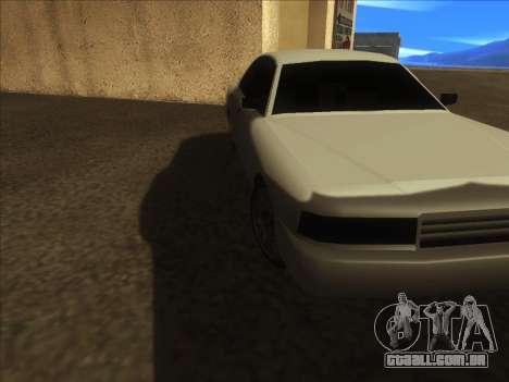 New Merit para GTA San Andreas esquerda vista