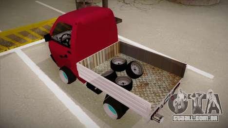 Suzuki Carry Drift Style para GTA San Andreas vista traseira