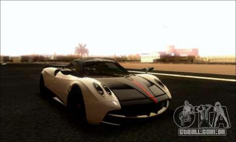 Pagani Huayra Cinque para GTA San Andreas