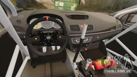 Renault Megane RS N4 para GTA 4 vista de volta