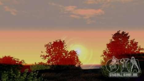 Caligraphic ENB v1.0 para GTA San Andreas terceira tela