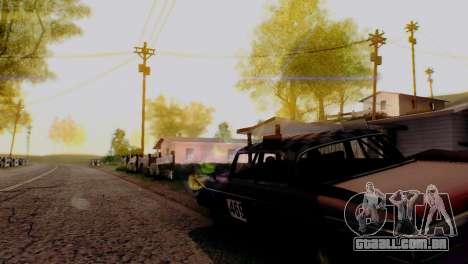 Caligraphic ENB v1.0 para GTA San Andreas por diante tela