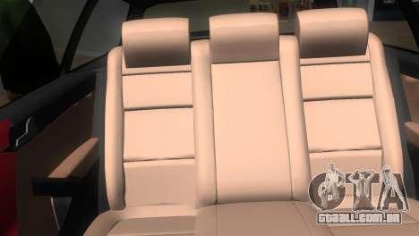 Volkswagen Passat B7 2012 para GTA Vice City vista traseira