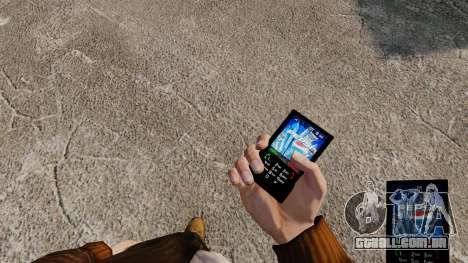 Temas para celular marcas de bebidas para GTA 4 terceira tela