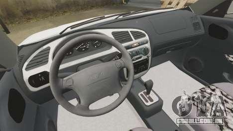 Daewoo Lanos GTI 1999 Concept para GTA 4 vista interior