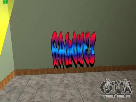 Graffity mod para GTA San Andreas sexta tela