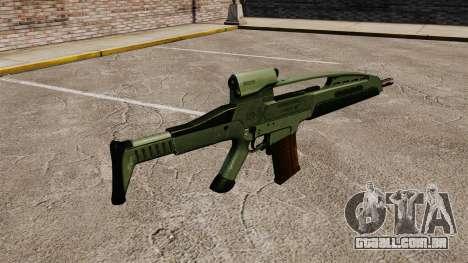 V1 de rifle de assalto HK XM8 para GTA 4 segundo screenshot