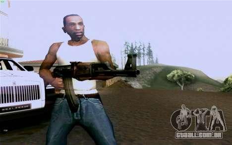 AK-47 para GTA San Andreas quinto tela