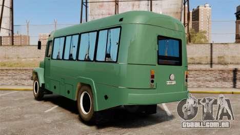 Kavz-3976 para GTA 4 traseira esquerda vista