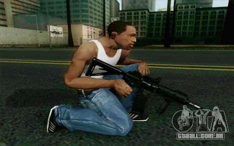 MK107 PDW para GTA San Andreas segunda tela