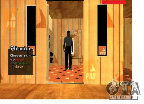 Máfia russa de pele Pack para GTA San Andreas terceira tela
