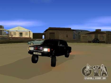 ВАЗ 2107 para GTA San Andreas