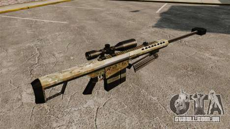 O Barrett M82 sniper rifle v14 para GTA 4 segundo screenshot