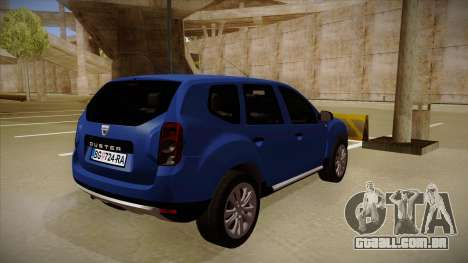 Dacia Duster SUV 4x4 para GTA San Andreas vista direita
