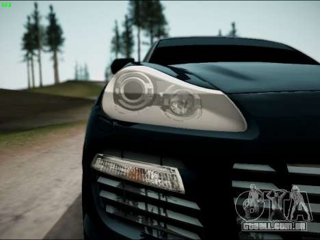 Porsche Cayenne para GTA San Andreas vista direita