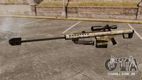 O Barrett M82 sniper rifle v14 para GTA 4 terceira tela