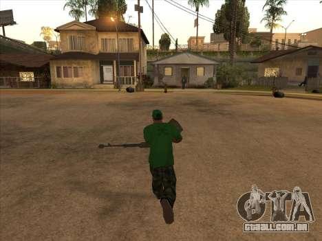 KORD para GTA San Andreas segunda tela