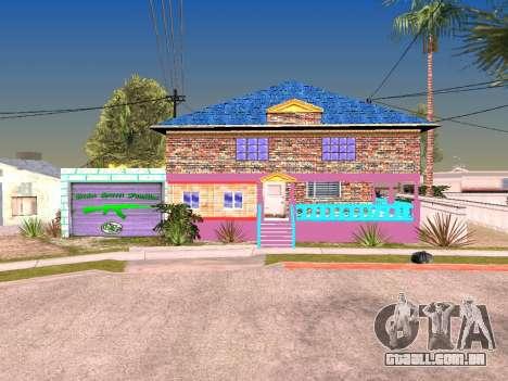 Textura de Karl House para GTA San Andreas segunda tela