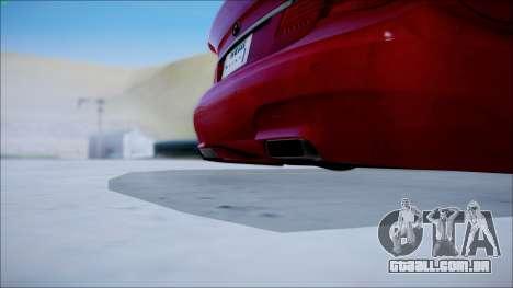 BMW 750 Li Vip Style para GTA San Andreas traseira esquerda vista