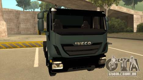 Iveco Hi-Land para GTA San Andreas esquerda vista