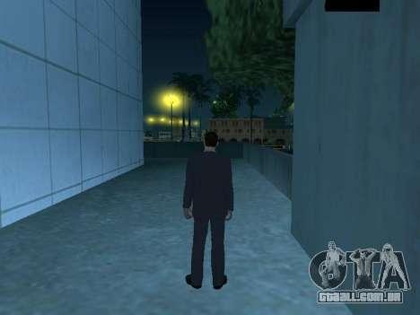 MafiaBoss HD para GTA San Andreas por diante tela