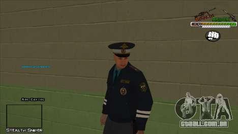 Polícia de San Angeles Pak peles para GTA San Andreas sexta tela