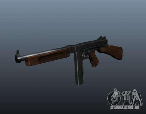 V2 de metralhadora M1a1 Thompson para GTA 4