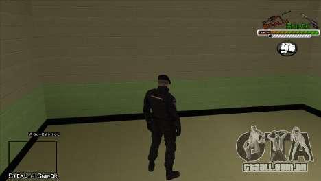 Polícia de San Angeles Pak peles para GTA San Andreas segunda tela