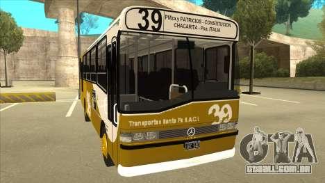 Mercedes-Benz OHL-1320 Linea 39 para GTA San Andreas