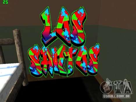 Graffity mod para GTA San Andreas terceira tela