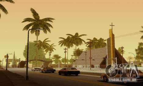 ENBSeries for Medium PC para GTA San Andreas quinto tela