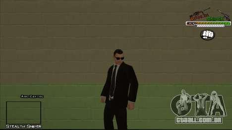 Polícia de San Angeles Pak peles para GTA San Andreas oitavo tela