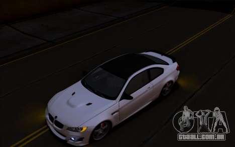 BMW M3 Hamann para GTA San Andreas esquerda vista
