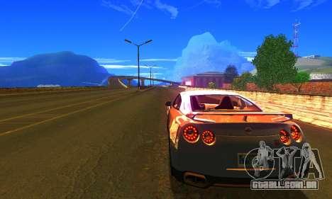 ENBSeries by AVATAR V2 para GTA San Andreas segunda tela