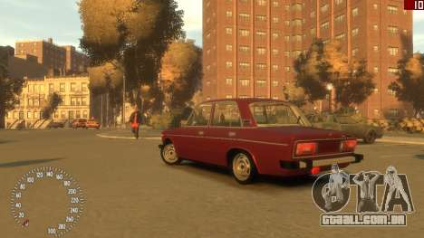 VAZ 2106 para GTA 4 esquerda vista