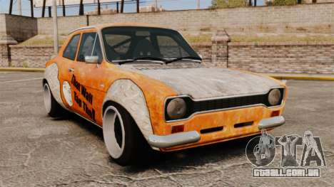 Ford Escort Mk1 Rust Rod para GTA 4