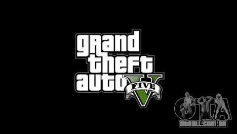 Imagens de menu e bota no estilo de GTA V para GTA 4 segundo screenshot